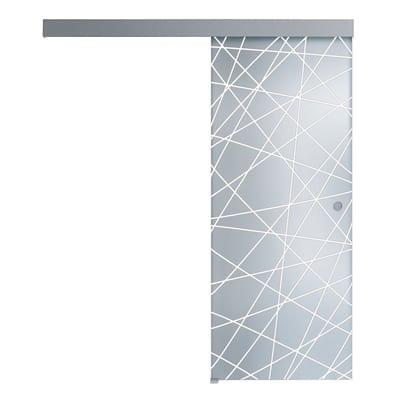 Porta da interno scorrevole Perseide 96 x H 215 cm reversibile