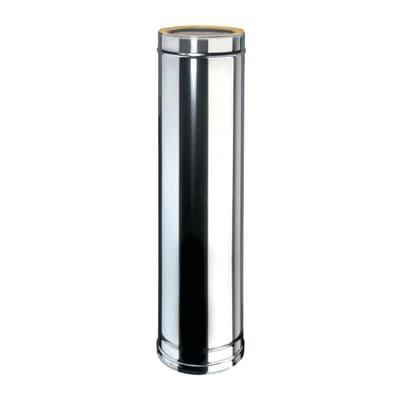 Tubo coibentato 1000 mm acciaio inox AISI 316L