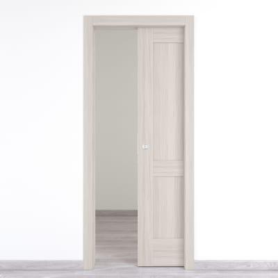 Porta da interno scorrevole Cape Side 80 x H 210 cm reversibile