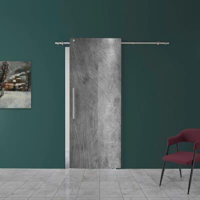 Porta da interno scorrevole Graffi 88 x H 220 cm dx