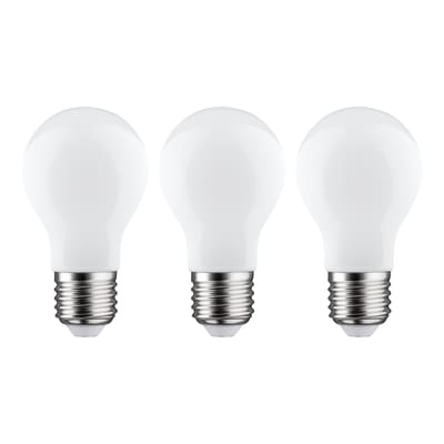 3 lampadine LED Lexman Filamento E27 =100W goccia luce calda 360°