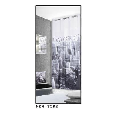 Tenda Metropolitan New York bianco e nero 140 x 280 cm