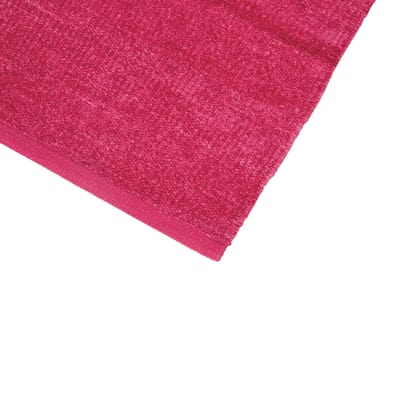 Tappetino cucina Ciniglia heart rosa 50 x 80 cm