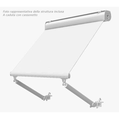 Tenda da sole a caduta cassonata Tempotest Parà 240 x 250 cm grigio Cod. 4015/81