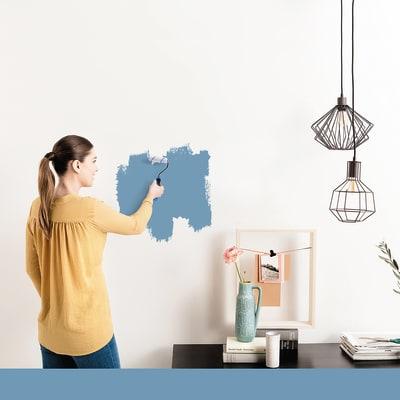 Tester idropittura murale Mano unica Blu Baltico 3 Luxens