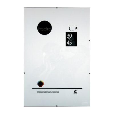 Cornice a giorno Clip Inspire trasparente 30 x 45 cm
