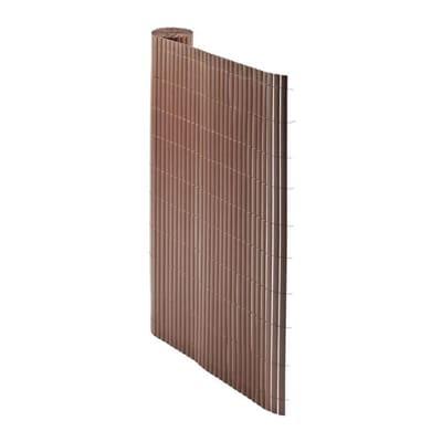 Cannicciato doppio marrone L 5 x H 1,5 m