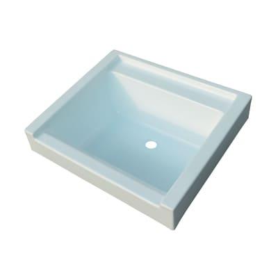 Vasca per mobile lavatoio Remix bianco L 52,5 x P  59,5 x H 25 cm