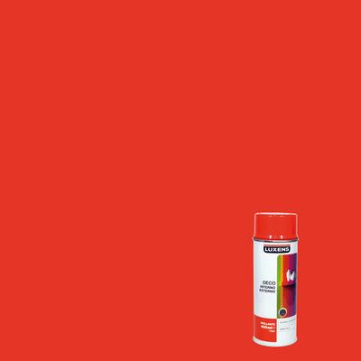 Smalto spray Deco Luxens arancio scuro RAL 2002 brillante 400 ml