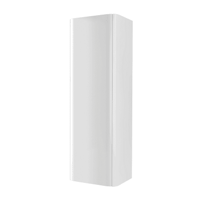 Colonna Liverpool bianco 1 anta L 43 x H 130 x P 35 cm