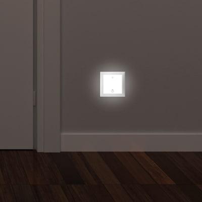 Faretto incasso per esterno a parete Turn me light LED 5,54 x 4,9 cm IP20