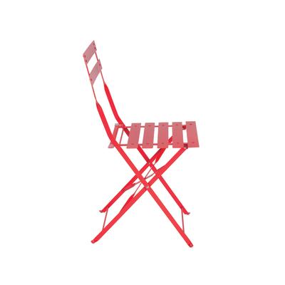 Sedia pieghevole Color rosso