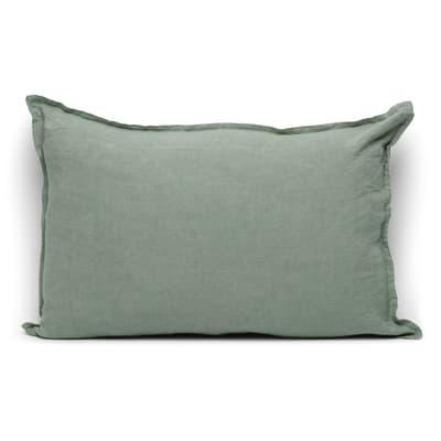 Cuscino Lina verde 40 x 60 cm