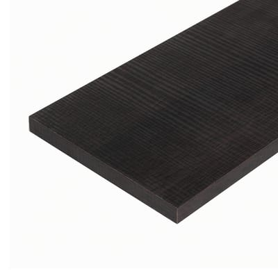 Pannello melaminico rovere scuro 18 x 600 x 1200 mm