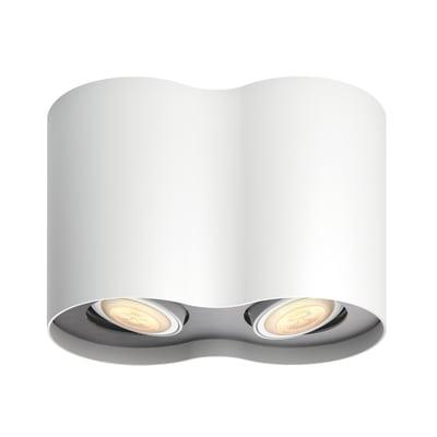 Barra a 2 luci Philips Hue Pillar bianco