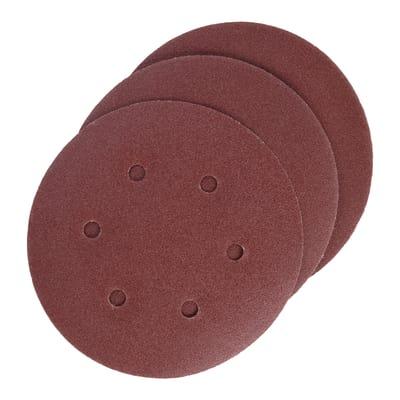 5 dischi abrasivi con velcro, grana 180