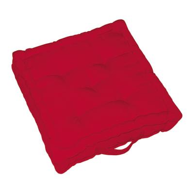 Cuscino da pavimento Elema Inspire rosso 40 x 40 cm