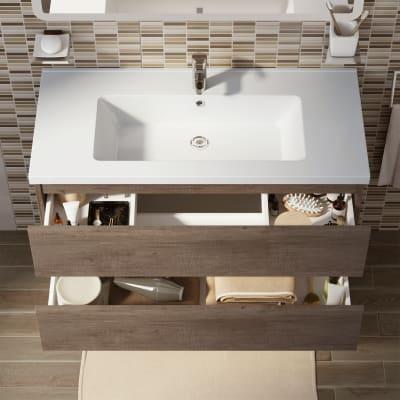 Mobile bagno Kora rovere L 101 cm