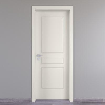 Porta da interno battente Chelsea bianco 70 x H 210 cm dx