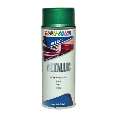 Smalto spray Metallic verde diamantato 400 ml