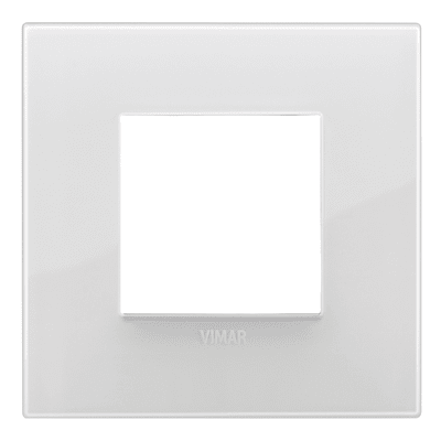 Placca 2 moduli Vimar Arké ghiaccio