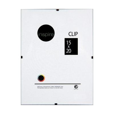 Cornice a giorno Clip Inspire trasparente 15 x 20 cm
