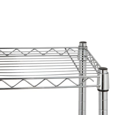 Scaffale in kit spaceo chrome style l 60 x p 35 x h 90 cm for Scale in kit leroy merlin