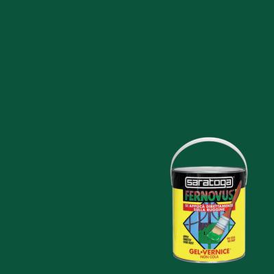 Smalto per ferro antiruggine Saratoga Fernovus verde brillante 2,5 L