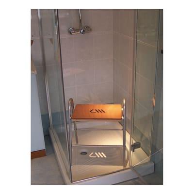 Sgabello in acciaio e larice prezzi e offerte online ...