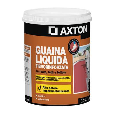 Impermeabilizzante tetti, terrazze, coperture liquido Guaina Liquida 0.75 L