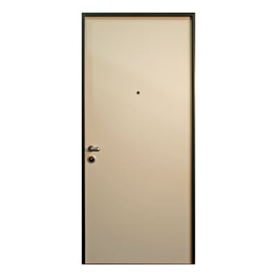 Porta blindata Confort bianco L 90 x H 210 cm dx