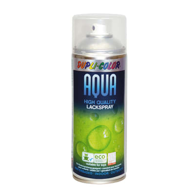 Smalto spray Aqua trasparente Lucido 350 ml