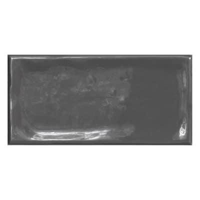 Piastrella Alfaro 7,5 x 15 cm antracite