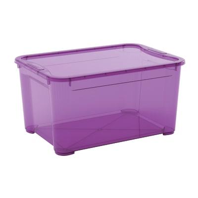 Scatola T Box L L 55,5 x P 39 x H 28,5 cm viola
