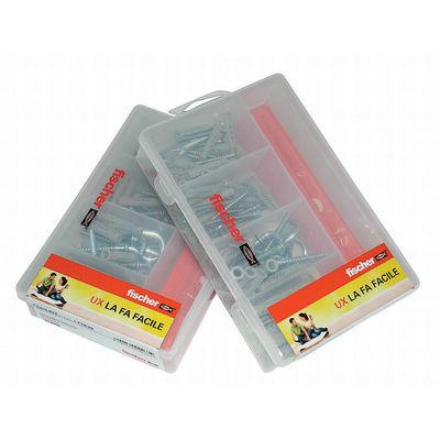 Kit di fissaggio Fischer Easy 43 pz. ø vari x vari  mm