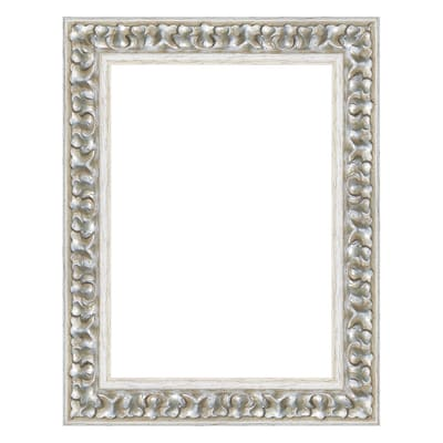 Cornice Baroque argento 13 x 18 cm