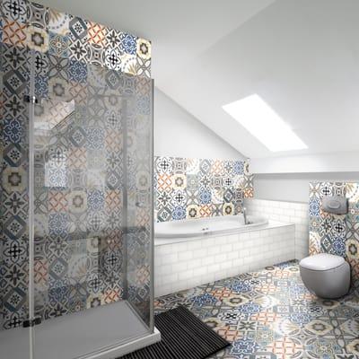 Piastrella Art Deco 20 x 20 cm multicolor prezzi e offerte online ...