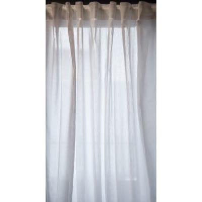 Coppia di tende Tilde bianco 148 x 294 cm