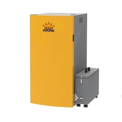 Caldaia a pellet Krone BOILER34KR-PA 31,22 kW arancio e grigio