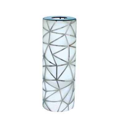 Vetro per lampadario componibile Stavanger bianco