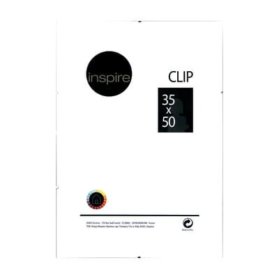 Cornice a giorno Clip Inspire trasparente 35 x 50 cm