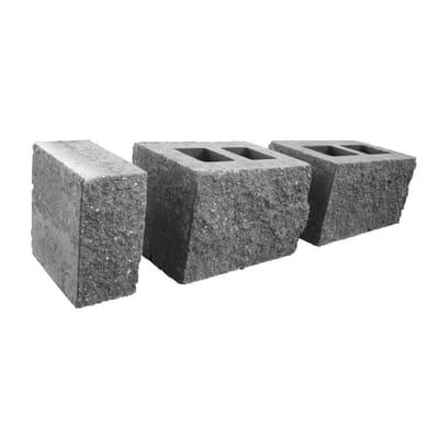 Muretto Antico grigio istria, bancale da 1.38 mq in cemento