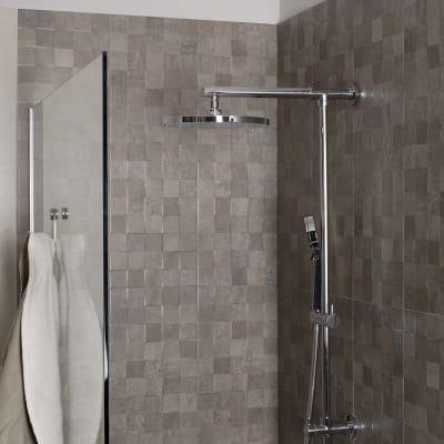 Piastrella Vision 25 x 75 cm grigio