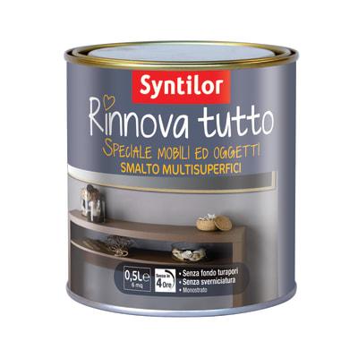 Smalto Rinnova tutto Syntilor Grigio opaco 0,5 L
