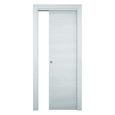 Porta da interno scorrevole Star Bianco matrix 70 x H 210 cm reversibile
