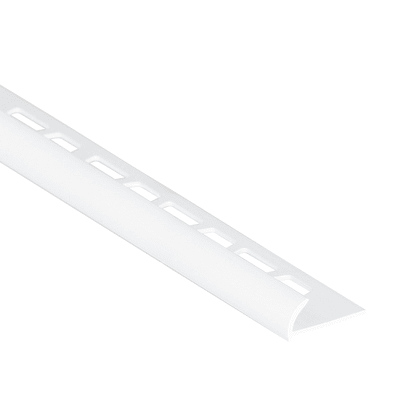 Profilo angolare esterno PVC 8 mm x 250 cm