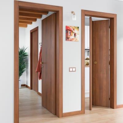 Porta da interno battente Schubert 90 x H 210 cm reversibile