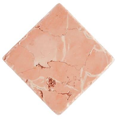 Piastrella Marmo Perlino 10 x 10 cm rosa