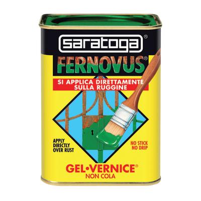 Smalto per ferro antiruggine Saratoga Fernovus nero brillante 0,75 L