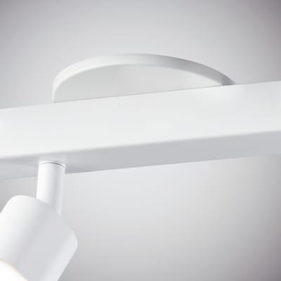 Barra a 3 luci Inspire Flut bianco LED integrato